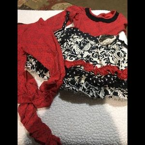 Girls outfit by mustard pie size 4-5 adorable